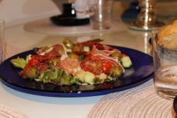 Mandeli catering salaatti